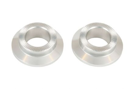 Federal Stance Front Hub Cone Nuts Polished (Pair)